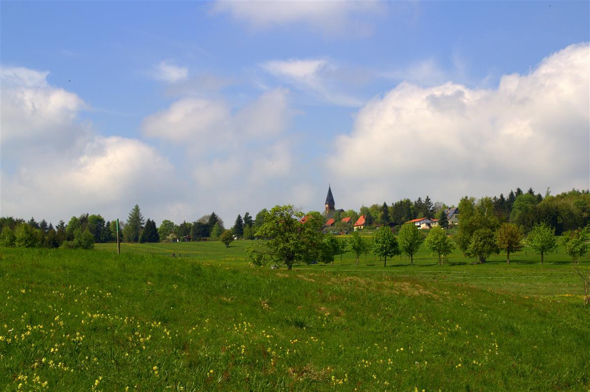Blick auf Friedrichsbrunn